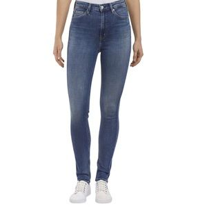CALVIN KLEIN High Rise Skinny Jeans- Size 10